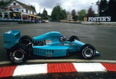 Ivan Franco Capelli (ITA) (Leyton House March Racing Team), March 871 - Ford-Cosworth DFZ 3.5 V8 (RET)1987 Belgian Grand Prix, Circuit de Spa-Francorchamps