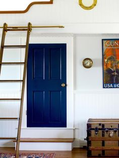Navy Blue: Go High-Gloss  - New Ways to Decorate With Shades of Blue on HGTV