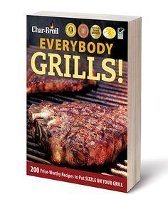 Look what I found on #zulily! Everybody Grills! Paperback #zulilyfinds