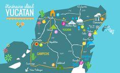 Mon itinéraire idéal pour un roadtrip dans le Yucatan