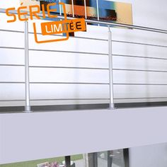 Kit balustrade aluminium - Escaliers