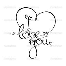 Bildergebnis für ich liebe dich gezeichnet