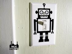 Robot light Switch Cover | www.eklectica.in