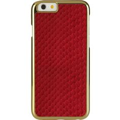 Iphone 6 exotic snap red (3.005 RUB) ❤ liked on Polyvore featuring accessories, tech accessories and red