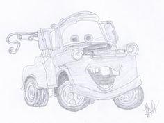 Disney Illustration Study: Cars