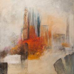 Materialen Camino 6 is geschilderd als vervolg op de serie Camino's die ik afgelopen jaar (2013) schilderde. Ik heb gebruik gemaakt van verschillende mater