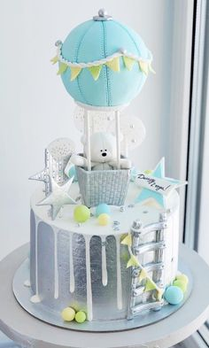 60 Ideas For Baby Shower Cake Pasteles Baby Shower Cupcake Cake, Torta Baby Shower, Baby Shower Cakes For Boys, Baby Shower Themes, Baby Boy Shower, Baby Shower Decorations, Shower Ideas, Babyshower Cake Boy, Baby Shower Cakes Neutral