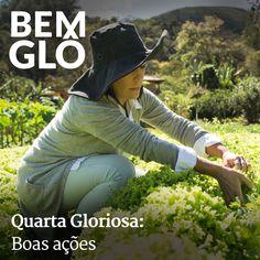 Hoje Gloria fala sobre pensar no próximo e fazer boas ações. Vem com a gente e confira! #bemglo #quartagloriosa #boasacoes