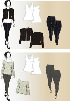 Fine Blend... toda moda...: Looks femininos