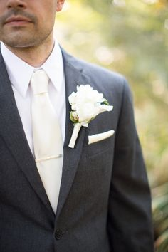 Abby Grace Photography; Enchanting DC Garden Wedding from Atrendy Wedding & Abby Grace Photography. To see more: http://www.modwedding.com/2014/09/02/enchanting-dc-garden-wedding-atrendy-wedding/ #wedding #weddings #boutonniere