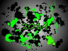 Splash art - Happy New Year!