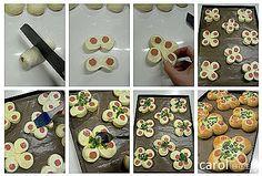 Carol rahat bir yaşam: yeşil soğan hot dog çörekler