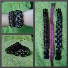 Bracelets with paracord
