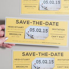 Learn how to easily make your own magnet save the dates! Cheap Invitations, Wedding Invitations, Invites, Diy Save The Dates, Save The Date Cards, Diy Wedding, Wedding Things, Wedding Ideas, Diy Magnets
