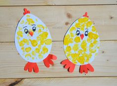 My Home Style: 6 tip& na velikono& tvo& pro d& Cute Kids Crafts, Easter Crafts For Kids, Toddler Crafts, Diy And Crafts, Arts And Crafts, Paper Crafts, Preschool Letter Crafts, Preschool Christmas, Letter A Crafts