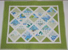 Baby Quilt Car Seat Cover Stroller Blanket Patchwork by MiniMade