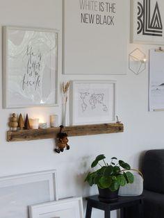 Makeover für die Wohnzimmerwand: Eine wilde Bilder-Galerie an Altholzbilderleiste. Plus: Zu Besuch bei weld & co - Mammilade