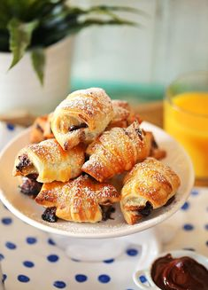 Croissant, Creative Cakes, Pretzel Bites, Bagel, Doughnut, Nutella, Cake Recipes, Sweets, Bread