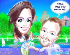 See the proposal #caricature I drew today in N rew York https://facebook.com/pages/Caricature-Artist/65878249487