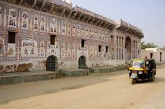 The Singhania Haveli at Ramgarh by Saumil U. Shah, via Flickr