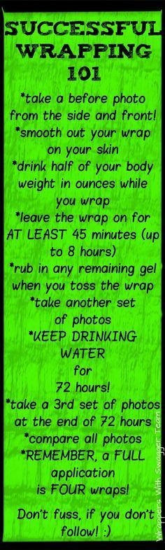 How To Body Wrap! Short and sweet :D Please go to my website to order your box of wraps for $59 versus $99 by becoming a Loyal Customer! www.universalwrapgirls.com or www.facebook.com/wraptogetskinny