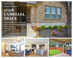 27318 Camellia Trace, Boerne, TX 78015 - Boerne Real Estate For Sale Winding Road, Texas Hill Country, Large Bedroom, Old Houses, Pergola, Beautiful Places, Floor Plans, Real Estate, Outdoor Structures