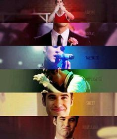 #DarrenCriss #BlaineAnderson