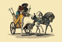 An Egyptian Chariot 24x36 Giclee