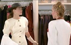 Pretty Woman:  Sales Clerk - May I help you?   Vivian Ward - No, thank you. Hi.  Sales Clerk - Hello.  Vivian Ward - Do you remember me?  Sales Clerk - No, I'm sorry.  Vivian Ward - I was in here yesterday. You wouldn't wait on me.  Sales Clerk - Oh.  Vivian Ward - You work on commission, right?  Sales Clerk - Uh, yes.  Vivian Ward - Big mistake. Big. Huge!  I have to go shopping now.  (Gary Marshall, 1990)