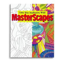Each page in the MasterScapes Coloring Book offers patterns, textures and styles based on art masterpieces. Make them your own by choosing just how to bring them to life using color.