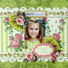 Anna Griffin *Sweetest Moments* - Scrapbook.com