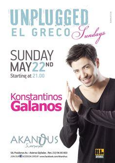 Konstantinos Galanos Live @ Akanthus