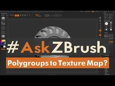 "#AskZBrush: ""How can I generate a Color ID map from Polygroups?"" - YouTube"