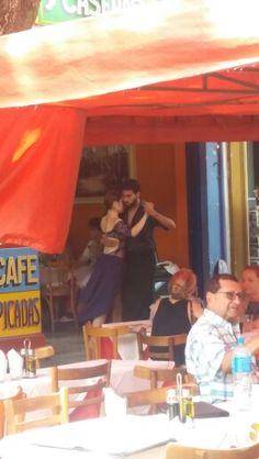 La Boca, Buenos Aires T-A-N-G-O!! :)