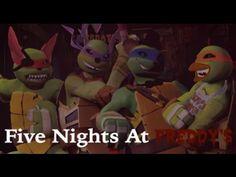 Teenage mutant ninja turtles five nights at freddy's