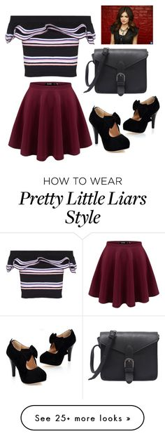 """""""Pretty Little Liars Cast!"""" by itsbeatrizcostaa on Polyvore featuring MSGM"""