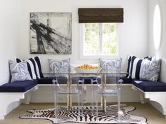 pool house banquette