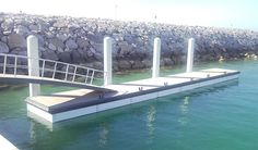 cheap and popular Dock plastic decking