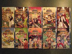 rave master volume 1 - 10 Rave Master, Love Is Sweet, Fairy Tail, 3 D, Manga, Anime, Manga Anime, Fairytail, Manga Comics