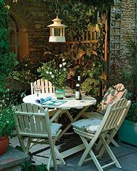 cottage Garden room 47 Small Courtyard Garden with Seating Area Design Ideas Small Courtyard Gardens, Small Courtyards, Courtyard Design, Balcony Gardening, Balcony Design, Container Gardening, Small Cottage Garden Ideas, Garden Cottage, Outdoor Rooms