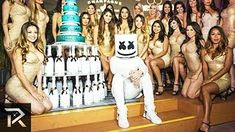Marshmello has only been a professional EDM artist for 4 years, yet he's already richer than almost everyone in his profession. His face remains a mystery wh. The Chainsmokers Live, Kylie Jenner Young, Kevin Rose, Voice Auditions, Music Production Equipment, Andrew Taggart, Free Songs, Rich Kids, Second Of Summer
