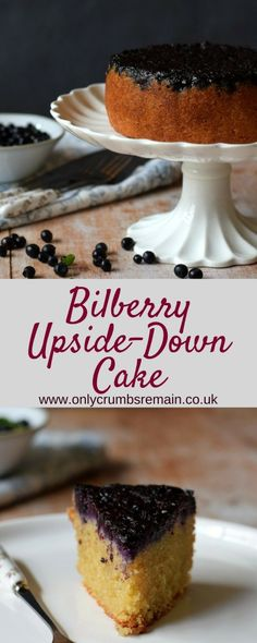 Upsidedown cakes make for an interesting everyday cake. This recipe uses bilberries and brings a touch of drama, as well as wonderful flavour and nutrition to an everyday cake suitable for afternoon tea. How To Make Cake, Food To Make, Yummy Food, Tasty, Delicious Recipes, Cupcake Cases, Nut Allergies, Cake Tins, Fruit And Veg