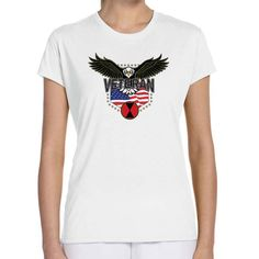 Show your 7th Infantry Division pride with this Ladies'  White Performance Short Sleeve Shirt. This performance shirt features 100% Polyester antimicrobial, moisture wicking fabric that will keep you cool, dry, and comfortable. THIS IS A PERFORMANCE FABRIC SHIRT, NOT COTTON. Designed, Printed & Sublimated in the USA -Fabric Imported.