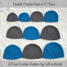 """Everyone needs their """"crochet basics"""" patterns in their repertoire. This…"""