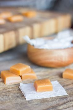 Homemade Soft Caramels - the creamiest, smoothest homemade soft caramels I have ever tasted, and I'm a bit of a caramel fanatic!