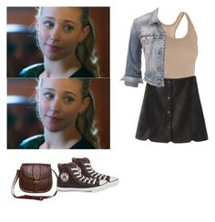Betty Cooper - Riverdale by shadyannon on Polyvore featuring polyvore fashion style maurices ibex even&odd Converse clothing