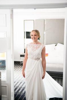 Karen Willis Holmes Sienna  Wedding Dress on Sale 74% Off