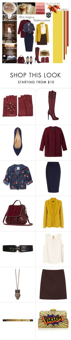"""""""Lost light commanders"""" by femme-mecha ❤ liked on Polyvore featuring Karl Lagerfeld, Emilio Pucci, Charlotte Olympia, Monki, Forever 21, River Island, Mackage, Oasis, Givenchy and Marni"""