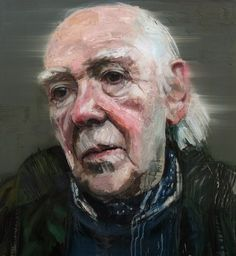 Colin Davidson, Portrait of Basil Blackshaw  2012 oil on linen 127 x 117 cm The collection of the Arts Council of Northern Ireland