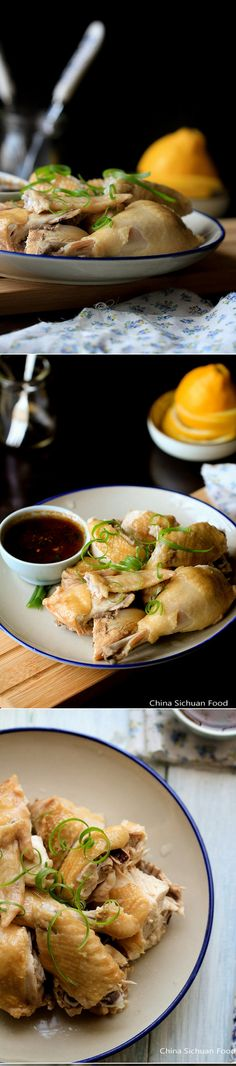 Chinese Steamed Chicken Recipe